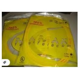 Cabo de Rede 2,5 Amarelo Ethernet CAT6